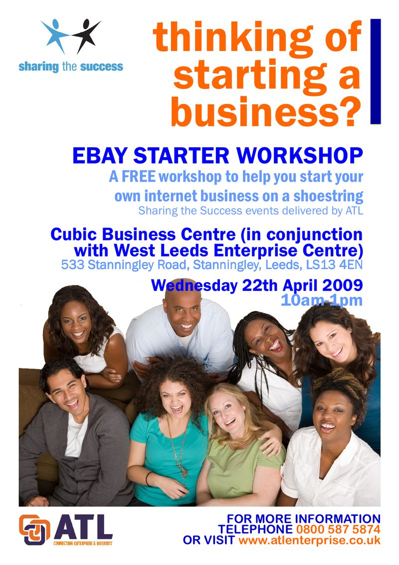 Ebay Starter Workshop - WLEC - 22.04.09[1]