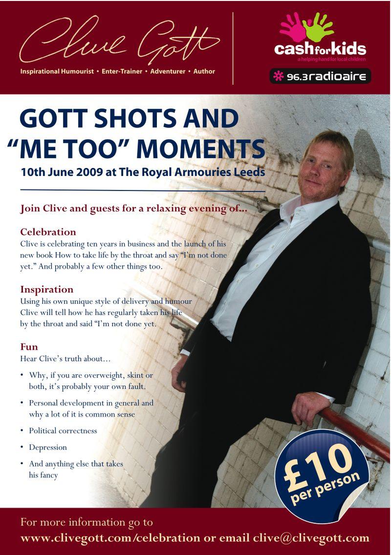 Gott Shots & Me too moments