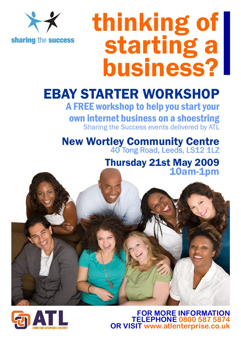 Ebay Workshop - NWCC - 21.05.09