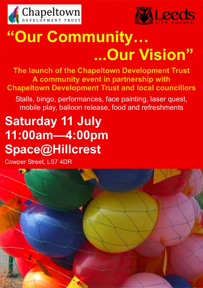 Chapeltown Fun Day